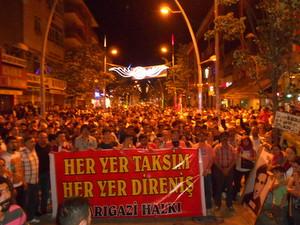 istanbul sarigazi halki direnmekete kararli