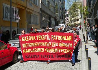 kazova-eylemcilerden