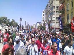 antakya operasyon protestosu