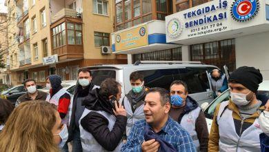 Photo of Cargill işçilerine polis barikatı!