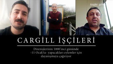 Photo of ÖZEL HABER | Cargill işçilerinden direnişlerinin 1000'inci günü için destek çağrısı
