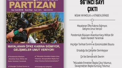 Photo of Partizan sayı 96 çıktı!