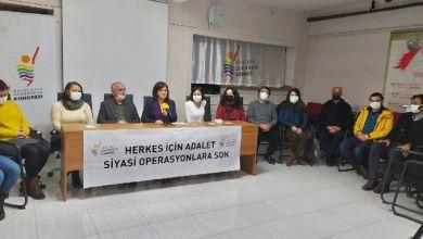 Photo of HDK bileşenlerinden açıklama: Sedat Şenoğlu'nu serbest bırakın